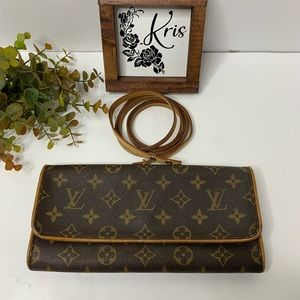 💕🌺Louis Vuitton Twin Pochette GM
